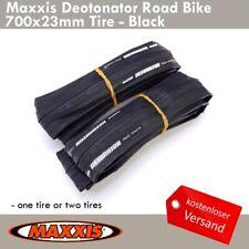 Maxxis Detonator Rennrad Reifen 700 x 23mm Radsport Full Schwarz 1 or 2 Tires
