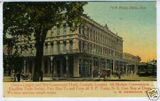 1912 Advertising Postcard Park Hotel Chico CA