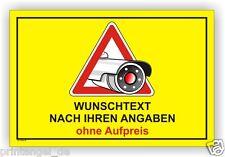 Schild,Individuell,videoüberwachung,videoüberwacht,video,Hinweisschild, Vi58