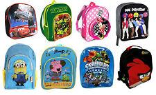 Kids Disney and Character School Backpack Rucksack Bag Stationery New Design