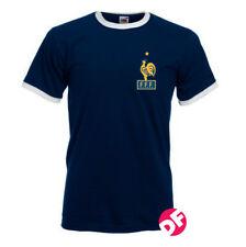 Rétro Style France Coupe du Monde T-Shirt Nostalgique shirt Coupe du Monde Zidane NEUF