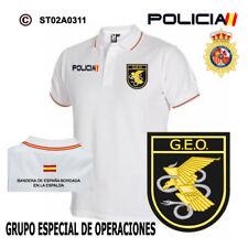 POLOS POLICIA NACIONAL: CNP - GEO / GRUPO ESPECIAL DE OPERACIONES