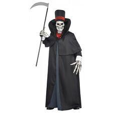 Grim Reaper Costume Adult Death Scary Halloween Fancy Dress