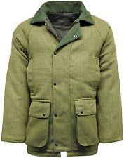 Men's Hereford Light Sage Tweed Jacket Hunting Shooting Fishing Jackets Coat New