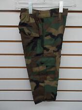 Toddler & Boys Cargo Army Camo Pants Size 2T - 7