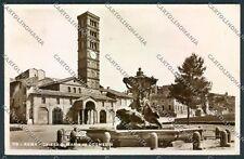 Roma Santa Maria Cosmedin Foto cartolina D4252 SZD