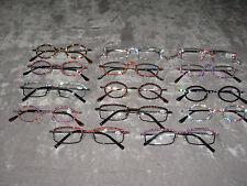 Swarovski Crystal Jeweled Reading Glasses +2.75 Bling Wire Frames NEW!