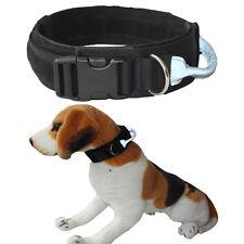 HEAVY DUTY Tactical Adjustable Nylon Large Dog Training Collar Reflective Handle