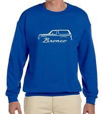 1980-86 Ford Bronco 4x4 Truck Classic Outline Design Sweatshirt NEW