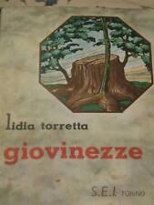 LIDIA MARCONCINI TORRETTA - GIOVINEZZE 1938