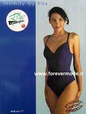 Body donna Rita senza ferretto non imbottito con contenimento leggero art 277