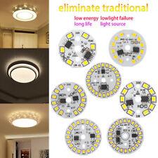 Round LED Light Chip SMD Bright 3W 5W 9W 7W 12w 15W Lamp Plate Bulb White