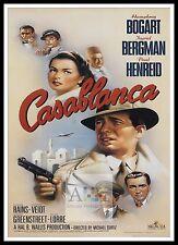 Casablanca 7 cartel mayor películas clásicos películas & Vintage