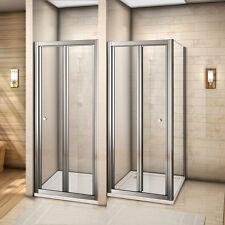 Eckdusche Duschkabine Falttür Duschabtrennung Duschwand Echtglas Dusche 70-100cm