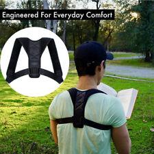 Adjustable Shoulder Back Brace Belt Posture Corrector Back Support Men & Women O
