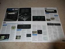 Sansui AU-517/TU-517 Brochure, 8 pg,Specs,Info,Articles
