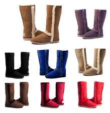 """Moonlight Tall Ugg Boots 34.5cm  14"""" high Premium Australian Sheepskin"""