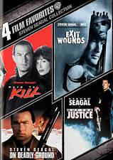 4 Film Favorites: Steven Seagal (DVD, 2011, 4-Disc Set) Brand New