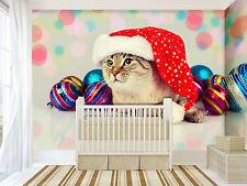3D Pretty Cat 356 Wall Paper Wall Print Decal Wall Deco Indoor AJ Wall Pape