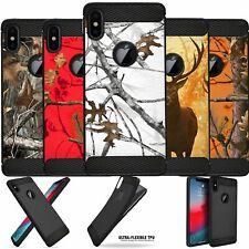 "For [iPhone XR/ 10R (6.1"")] Camo Case TPU Carbon Fiber Texture Flexible Cover"