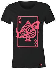 """""""ACE OF J's"""" Women/Juniors T-Shirt to Match Air Retro 13 """"HYPER PINK"""" GS"""