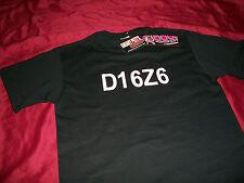 JDM STYLE D16Z6 HONDA CIVIC SOHC EK EG D16 T-SHIRT NWT EG EF EK SI GSR D16 SWAP