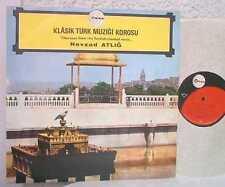 NEVZAD ATLIG disco LP 33 giri KLASIK TURK MUSIC made in TURKEY Turkish classical