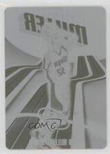 2003-04 Topps Finest Press Plate Cyan #57 Brad Miller Sacramento Kings Card