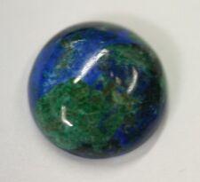 Natural Azurite Malachite Round Cabochon 12mm 14mm 16mm 18mm 20mm 30mm Jewelry
