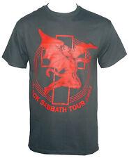 Authentic BLACK SABBATH Band Tour Art 1981  Logo T-Shirt S-XXL Ozzy New