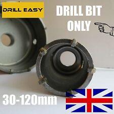 30 -120mm Carbide Wall Hammer Drill Bit Hole Cutter Saw Wall Hole Cutter TCT Bit