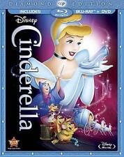 Cinderella (Blu-ray/DVD, 2012, 2-Disc Set, Diamond Edition)