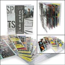 Safe Sammelalbum incl.20 Blatt für 160 Autogrammk. Autogrammkartenalbum (7927)