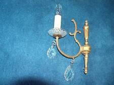 Lüster Lampe sehr schöne Wandlampe massiv Bronze
