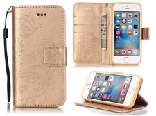Apple iPhone 6Plus, 6s Plus Flip PU Leather Case Emboss Butterfly Wallet