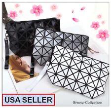 Korean Women Fashion Diamond Bao Geometric Clutch/Makeup Bag, Christmas Gift,USA