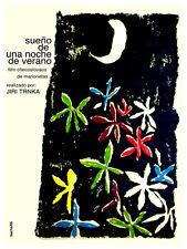 Sue–o de una noche de verano Decoration Poster.Graphic Art Interior design 3170