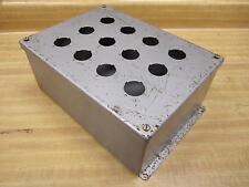 Part 11 3/4-8 1/2-5 11348125 Push Button Enclosure - New No Box