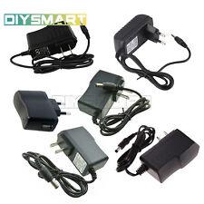 EU/US Plug AC100-240V to DC 12V 9V 5V 1A 2A Power Converter Adapter LED Light AU