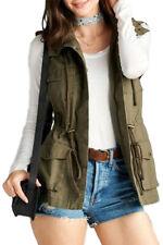 Women's Cotton Cargo Utility Vest