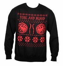 House Of Thrones Targaryen Sweatshirt Game Show Tv Christmas Jumper