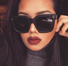 Vintage Luxury Big Square TILDA Audrey Large Aviator Glasses Sunglasses 6601 L