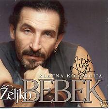 ZELJKO BEBEK 2 Cd Zlatna Kolekcija Original SIGNIERT Bijelo Dugme Selma Kupres