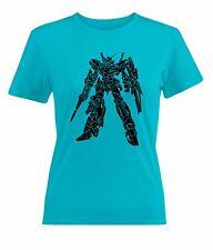 Gundam UC RX-0 Unicorn Gundam [Destroy Mode] Womens Juniors T-Shirt Short Sleeve