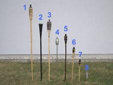 Ersatzdocht für große Bambusfackeln / für große Bambusfackeln mit Edelstahlbrenn