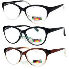 SA106 Cat Eye Multi 3 Focus Progressive Reading Glasses