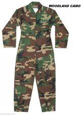Military Flightsuit AirForce Mechanic Camo Coveralls Flight Suit Uniform Overall