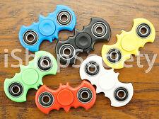 Bat Fidget Spinner Tri-Spinner EDC Figet Hand Desk Focus Toy ADHD - Multi Color