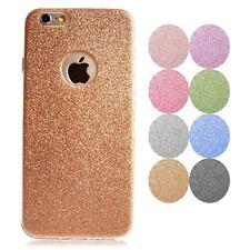 Handy Hülle+Panzerglas für iPhone Samsung Tasche Schutz Hülle Glitzer Case Cover
