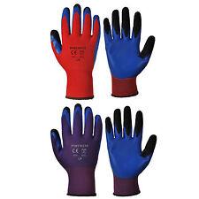 Portwest A175 Duo Flex GUANTO Advanced DOUBLE ANABBAGLIANTE Coated Fingers
